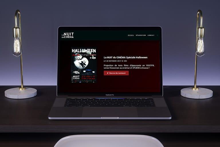 La Nuit du Cinéma, Création de site internet