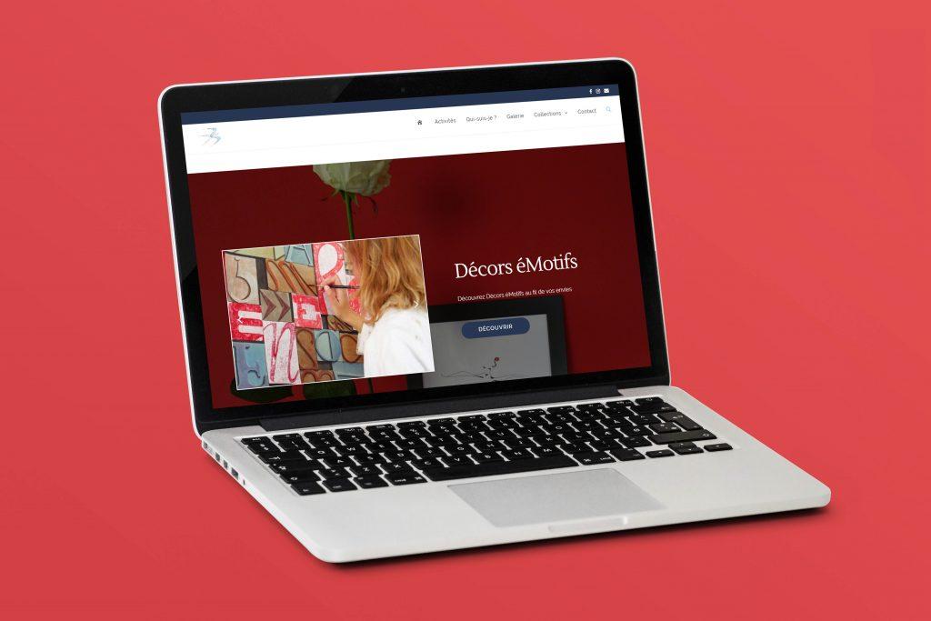Decors-eMotifs création site WordPress