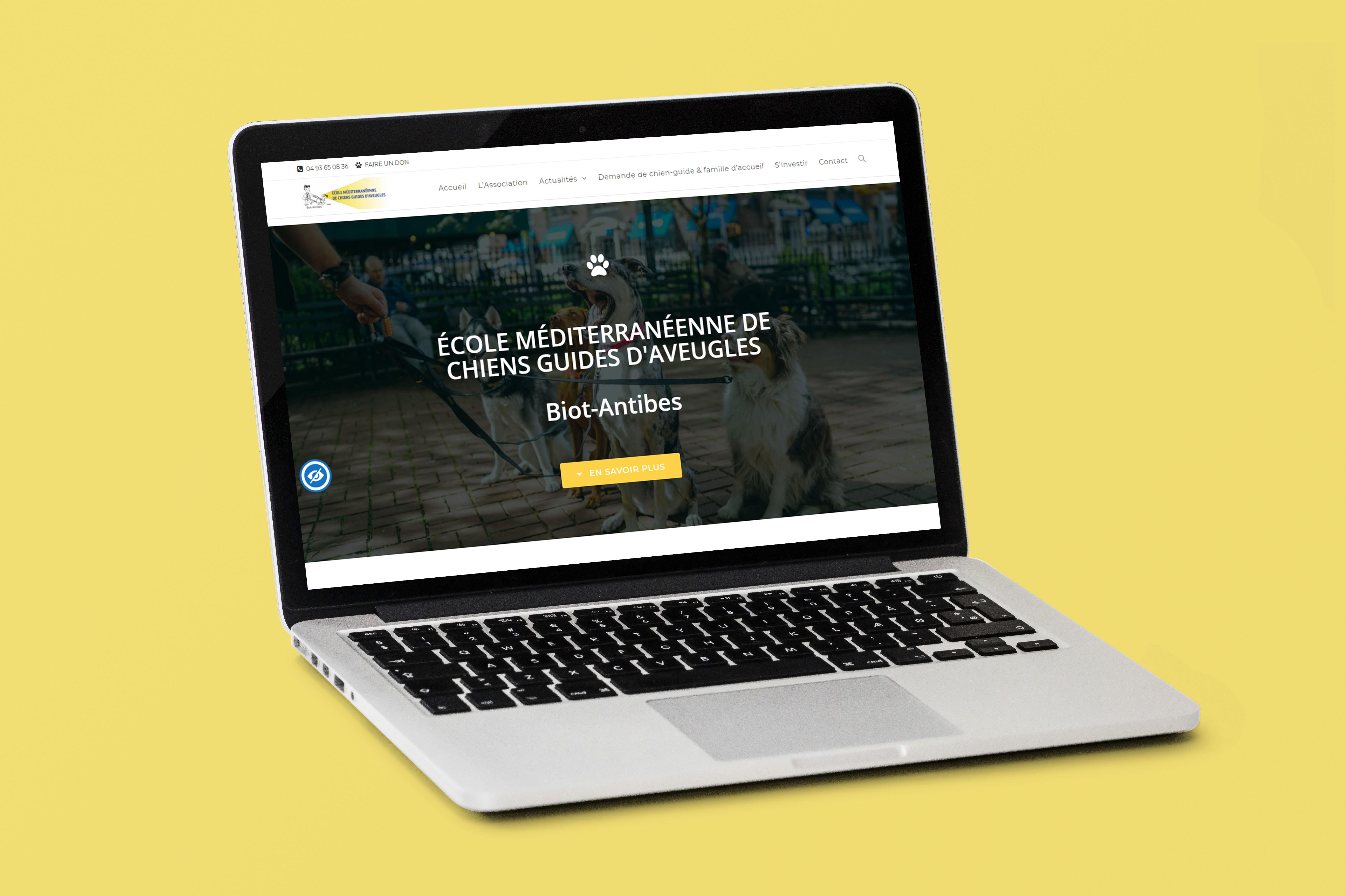 Emcga, Création de site internet