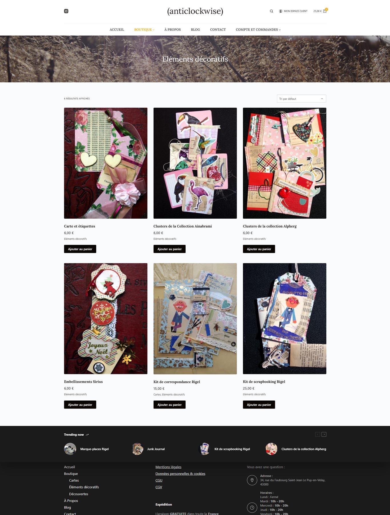 Boutique_Anticlockwise_presentation_création_site_internet_albi